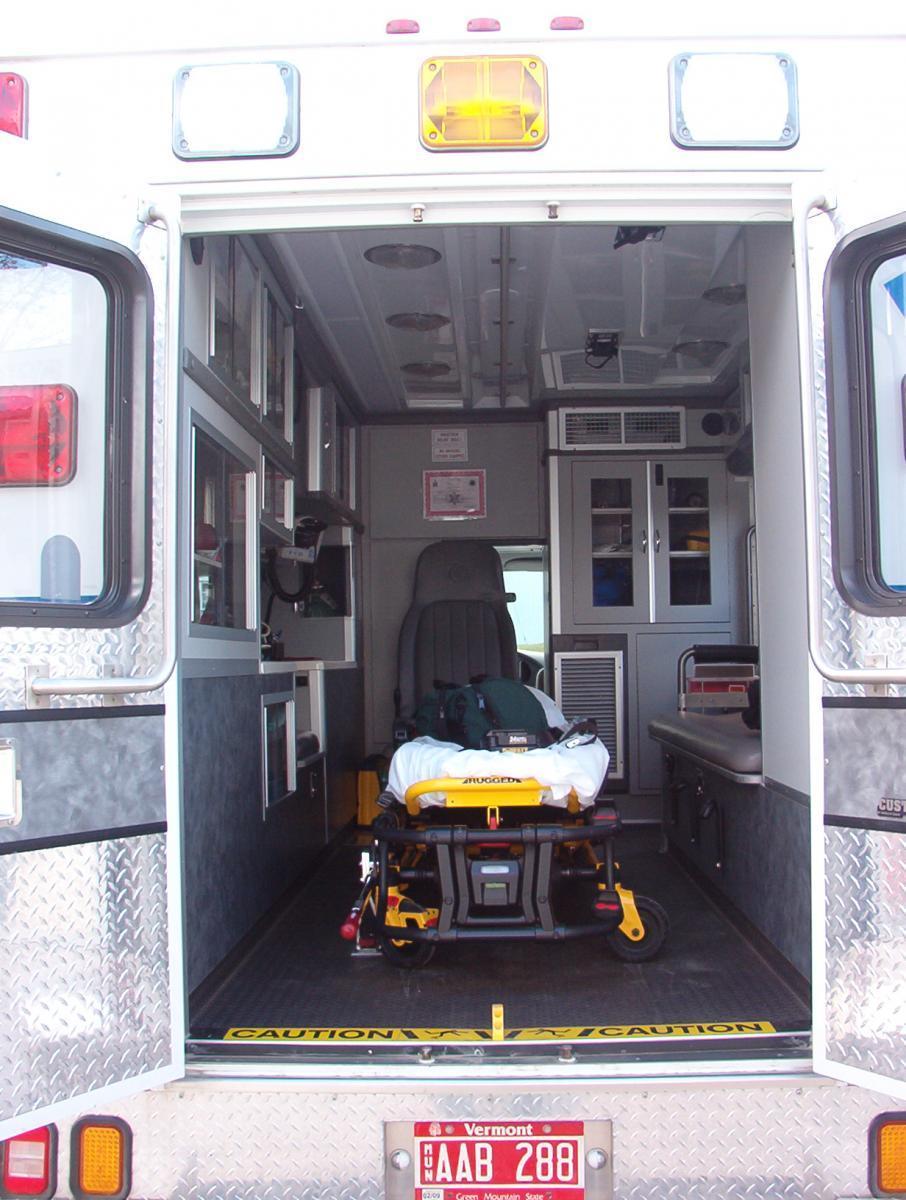 Inside Ambulance