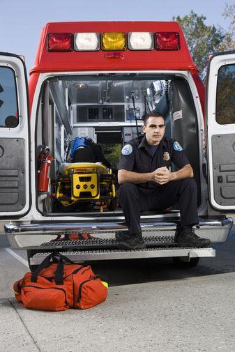 Guy and Ambulance