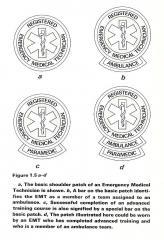 Original NREMT Patches