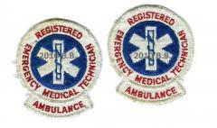National Registry EMT-A Patches