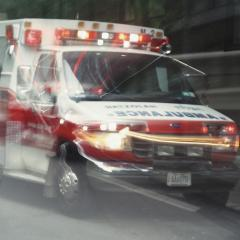 Blurred Ambulance