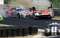 ALMS Race - Crash