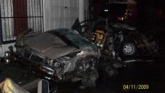 Car split in half  #3