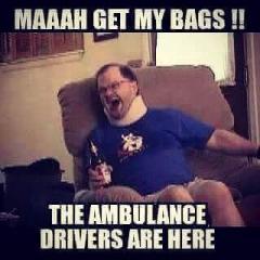 MAAH, GET MY BAGS!!